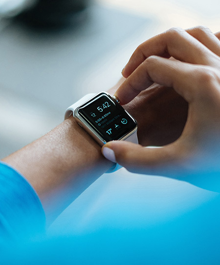 smart watch improve diet