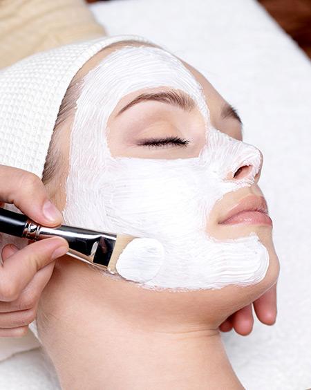 salon treatment facial
