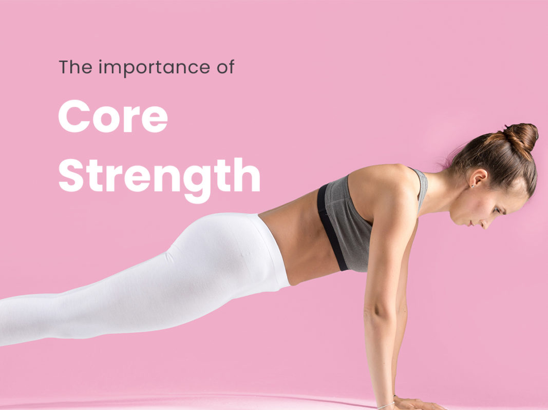 women with core strength