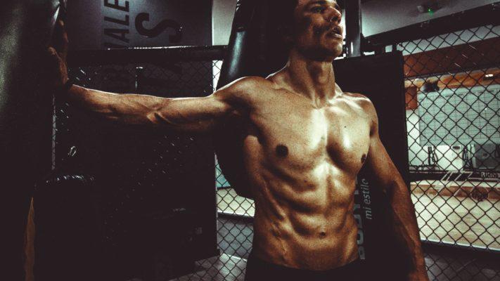 core workout man