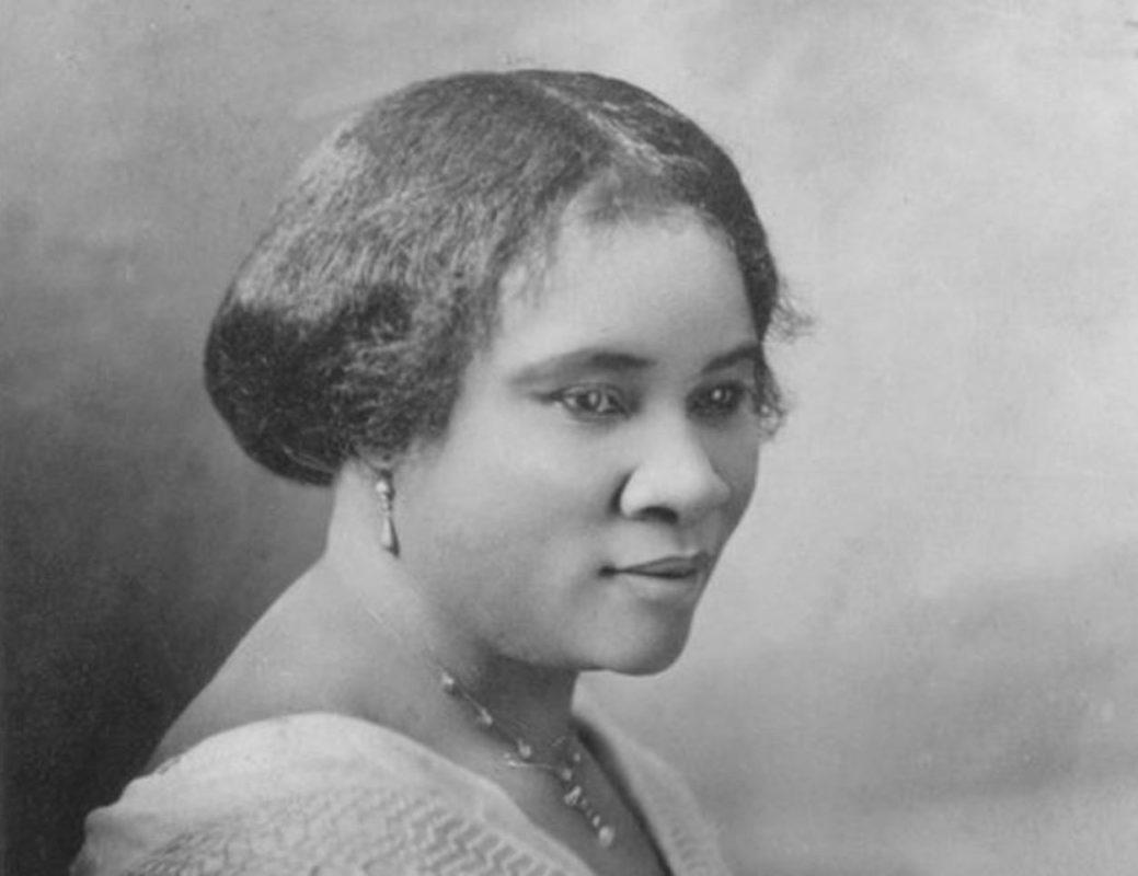Madam CJ Walker portrait